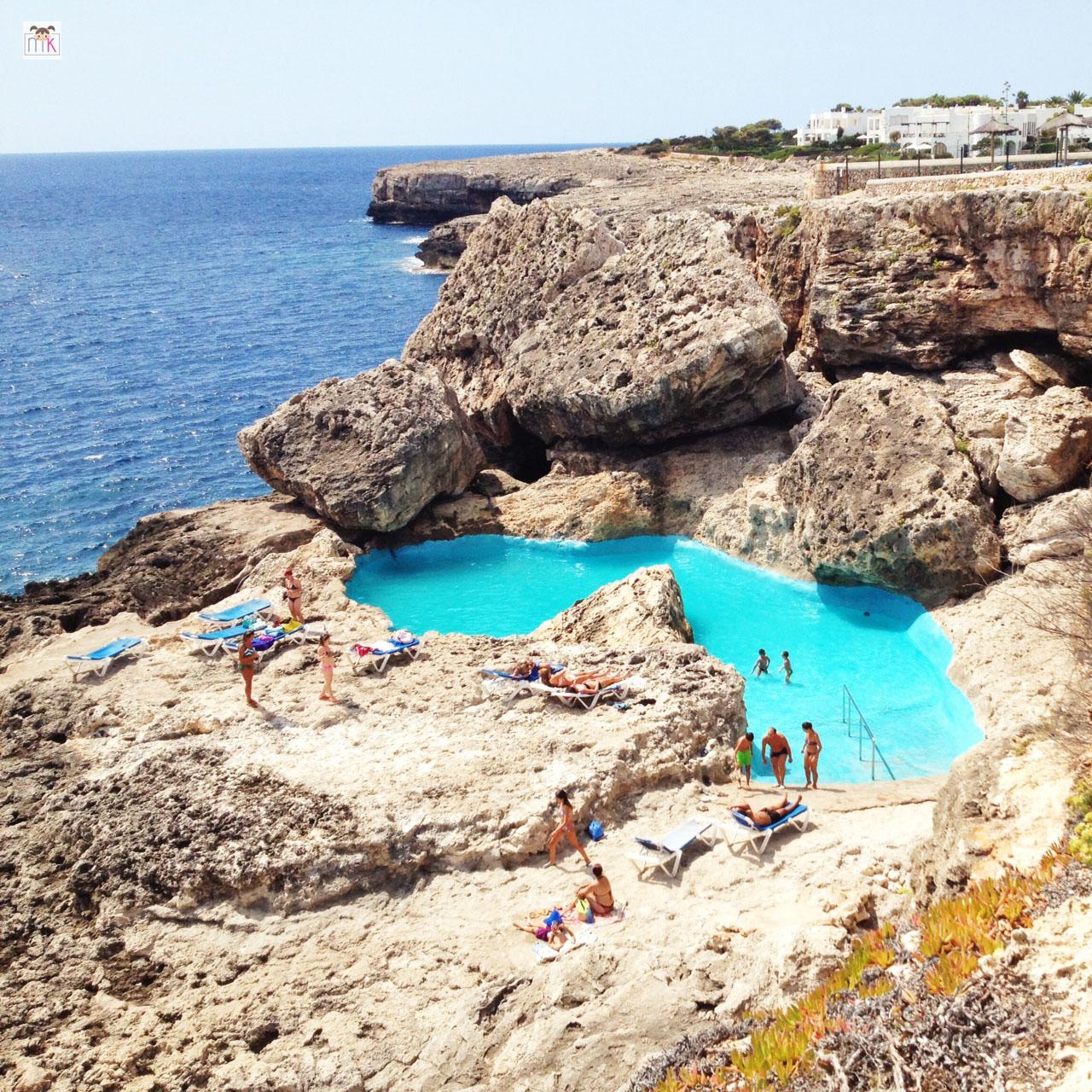 Mejor zona de mallorca para alojarse relax buena piscina y - Piscina natural mallorca ...