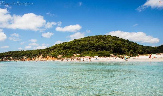 Menorca_Playa Binigaus