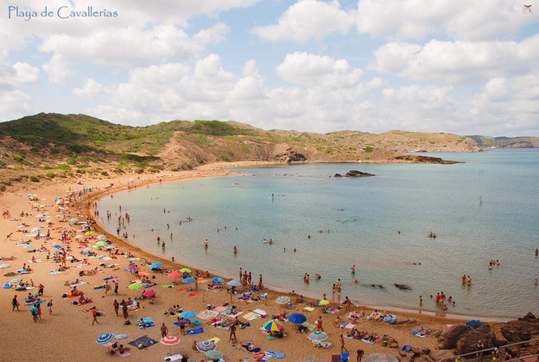 Menorca_Playa de Cavallerías